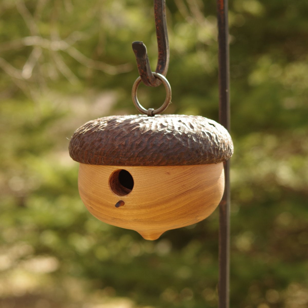 Acorn Garden Birdhouse - Cattails Woodwork