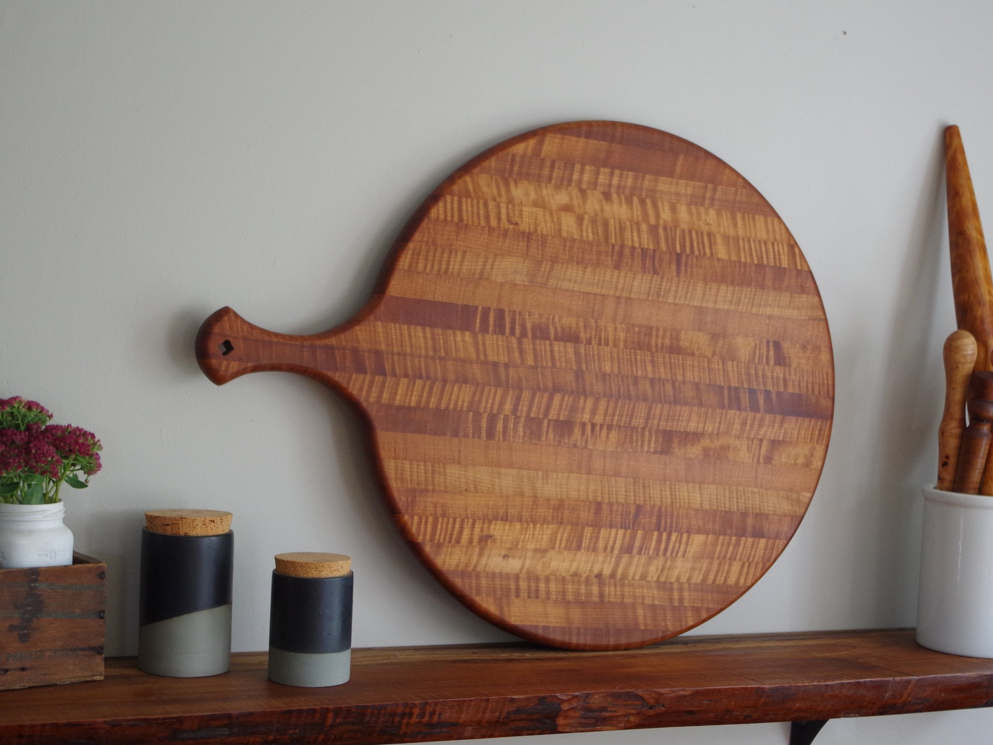 European Cheese Board - Cattails Woodwork