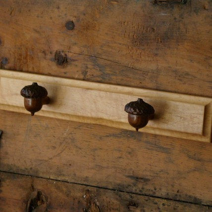 Woodland Acorn Hanger - Cattails Woodwork
