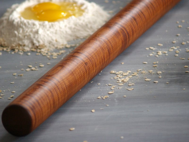Long Pasta Rolling Pin - Cattails Woodwork