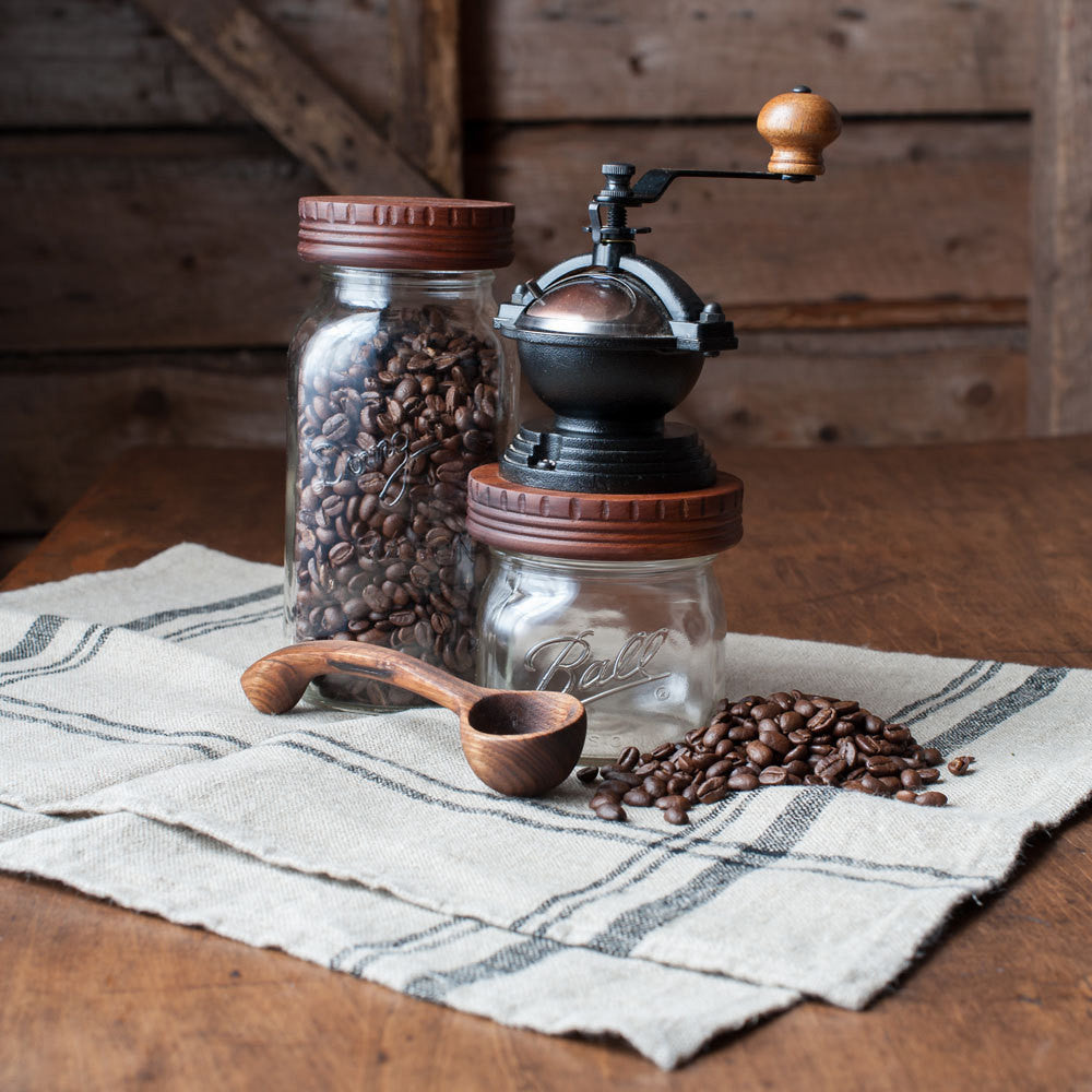 Ceramic Burr Manual Coffee Grinder - Cattails Woodwork