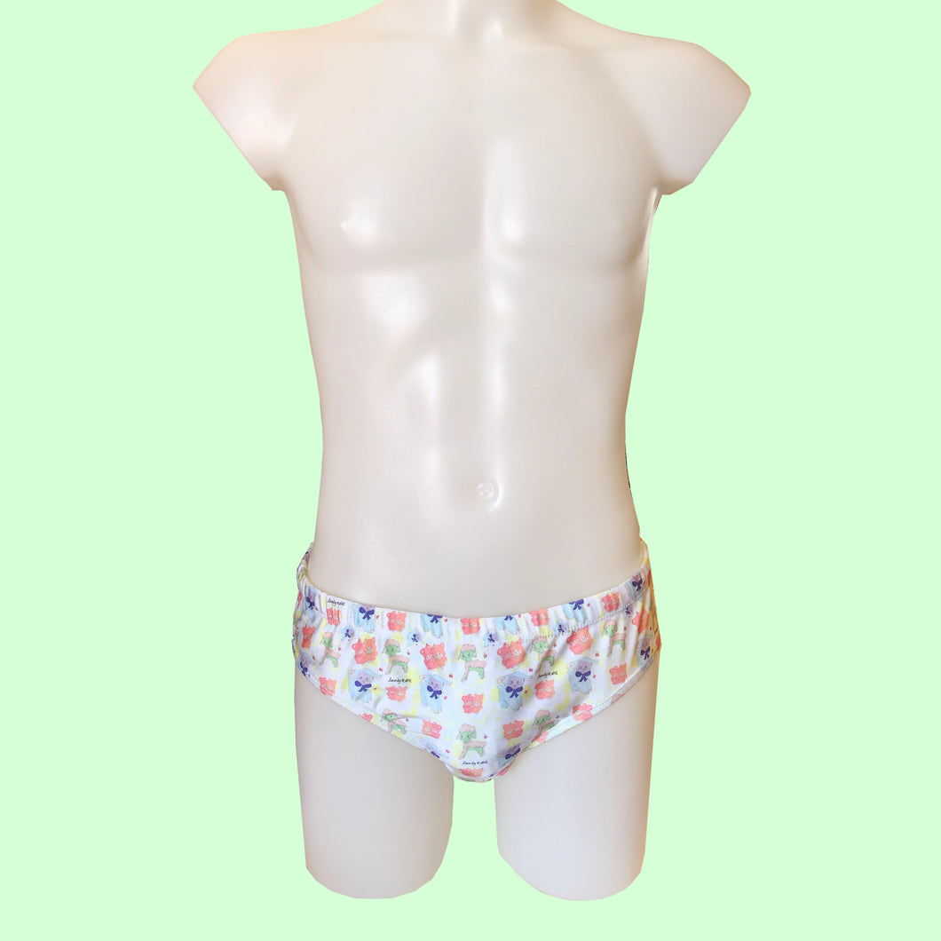 BABY SHEEP SWIM BRIEFS