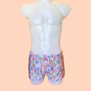 HOT QUILTING SWIM SHORTS