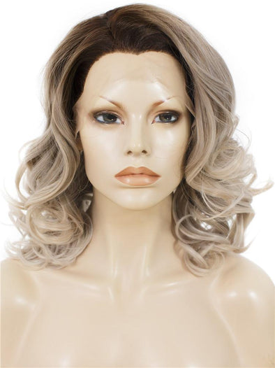 Balayage Blonde Synthetic Lace Front Wig
