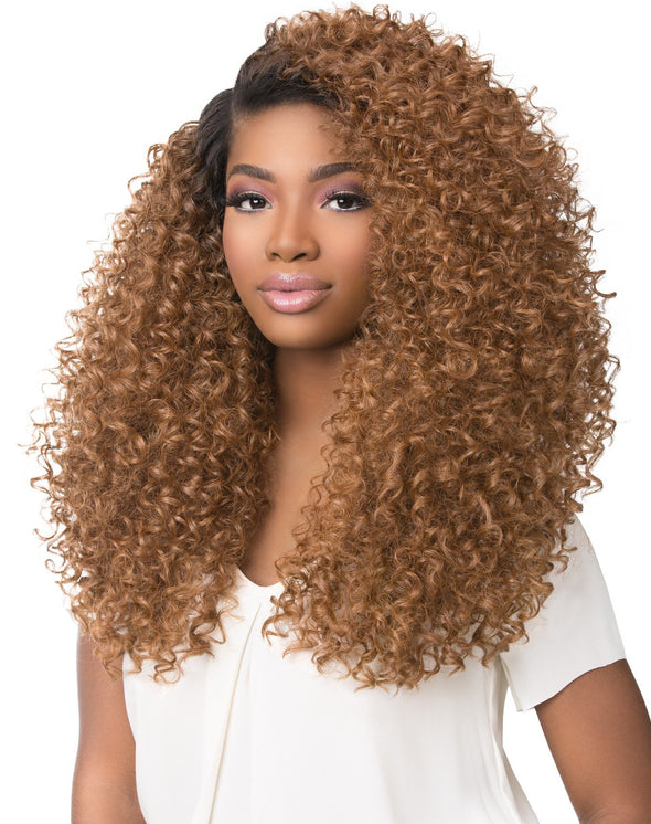 Empress Curls Kinks & CO Textured Lace Front Wig GAME CHANGER