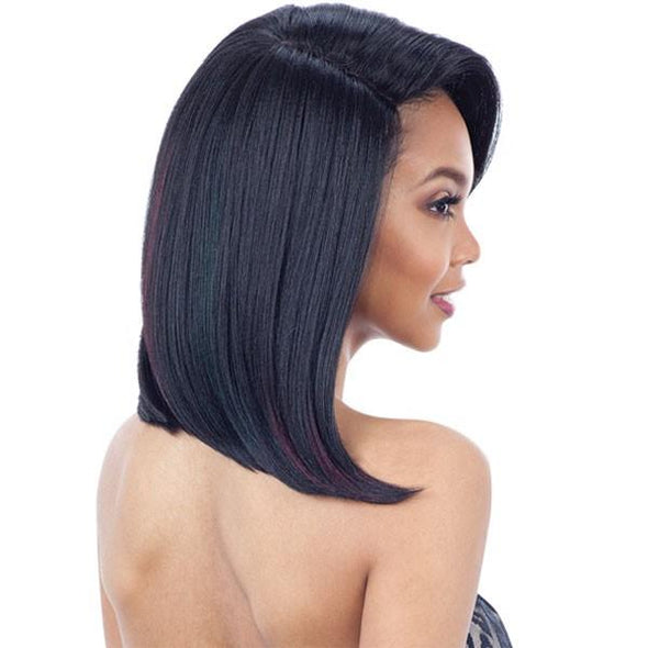 Model Model Synthetic Over Bang 5 Inch Lace Part Wig FABIA