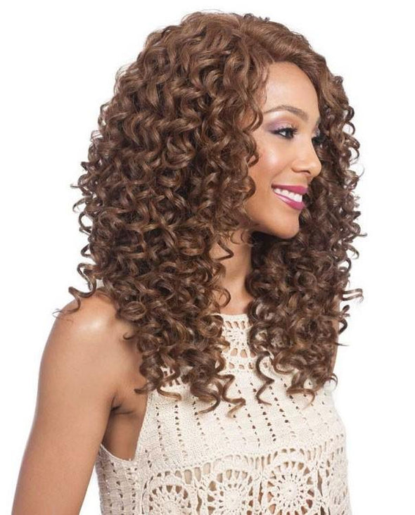 "Bobbi Boss Human Hair 5"" Deep Part Lace Front Wig MHLF800 EMA"
