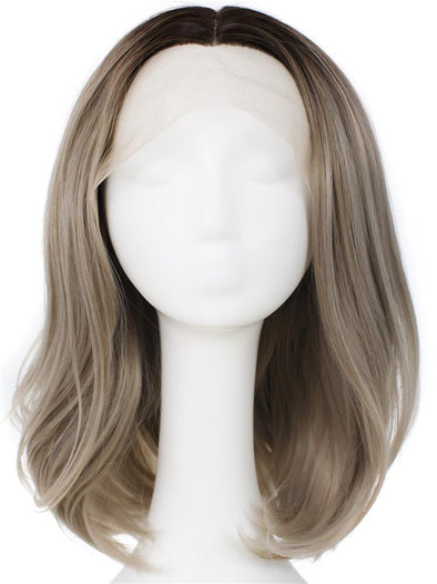 CEDAR GRAY Synthetic Lace Front Wig