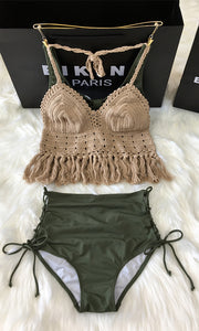 Two-pieces Bikinis Swimming Suit BKN0027