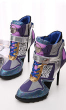 Load image into Gallery viewer, Popular Autumn Boots Women Shoes Heels HZS0217