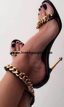 Load image into Gallery viewer, Black High Heels Women Sandals Shoes HZS0124