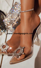 Load image into Gallery viewer, Popular Sandals High Heels Women Shoes with Rhinestone HZS0164