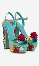 Load image into Gallery viewer, Luxury High Heels Women Shoes with Flowers HZS0233
