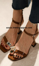 Load image into Gallery viewer, Women Sandals Summer Shoes Heels HZS0202