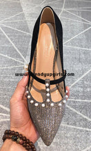Load image into Gallery viewer, Beaded Sparkly High Heels Prom Women Shoes HZS0156