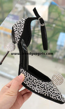 Load image into Gallery viewer, Beaded Sandals High Heels Women Shoes for Prom HZS0158