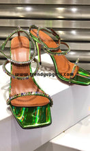 Load image into Gallery viewer, Sparkle High Heels Summer Women Shoes HZS0161