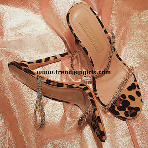 Summer Sandals Heels Women Shoes HZS0177