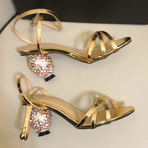 Sparkle Sandals Women Shoes Heels HZS0207