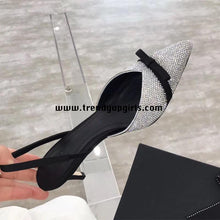 Load image into Gallery viewer, Sparkle High Heels Sandals Women Shoes for Prom HZS0152