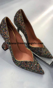 Sparkly High Heels Women Shoes HZS0134