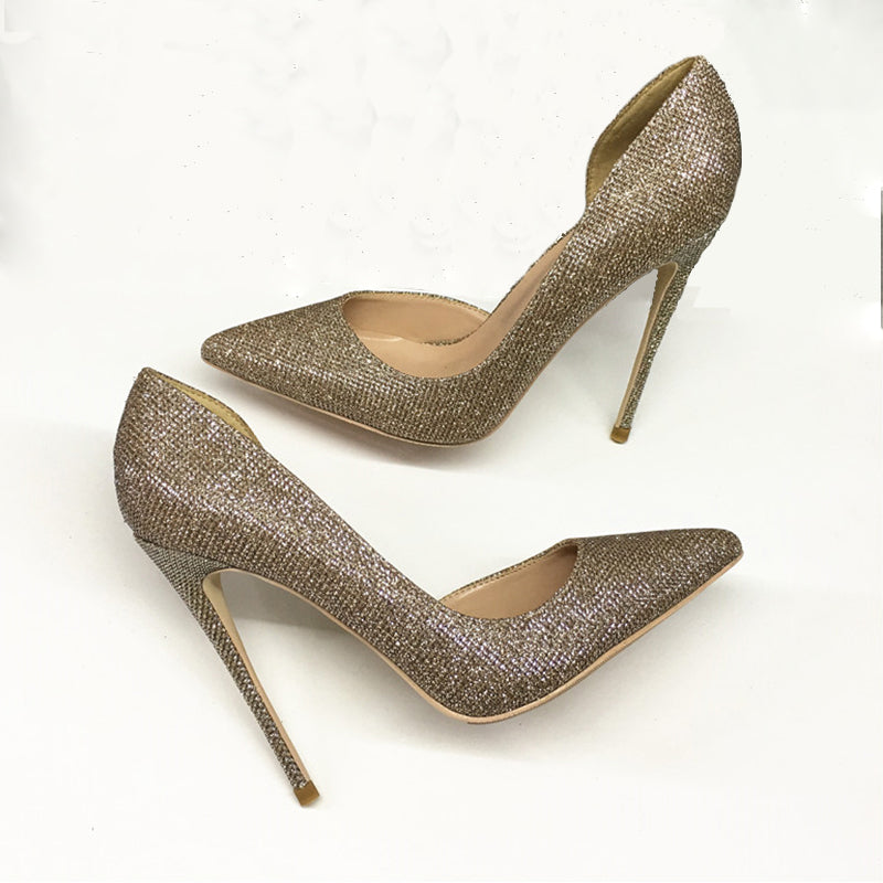 Popular Simple High Heels Women Shoes HZS0219
