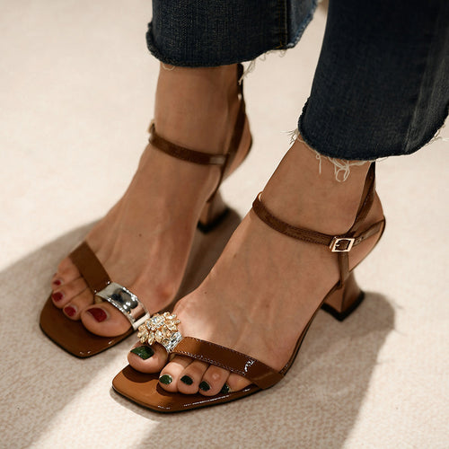 Women Sandals Summer Shoes Heels HZS0202