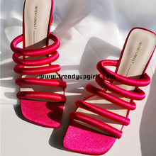 Load image into Gallery viewer, Summer Simple Sandals High Heels Women Shoes HZS0149
