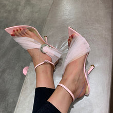 Load image into Gallery viewer, Pink Sandals Women Shoes High Heels HZS0229
