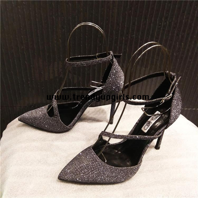 Sparkle High Heels Women Shoes HZS0111