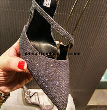 Load image into Gallery viewer, Sparkle High Heels Women Shoes HZS0111
