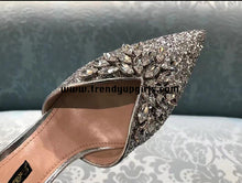 Load image into Gallery viewer, Sparkle Flat Women Shoes with Rhinestone HZS0105