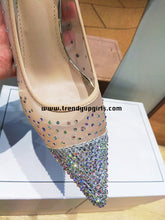 Load image into Gallery viewer, High Heels Women Shoes with Beads HZS0106