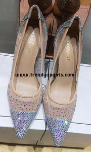 High Heels Women Shoes with Beads HZS0106
