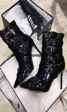 Load image into Gallery viewer, Black High Heels Women's Boots HZS0102