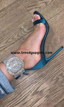 Load image into Gallery viewer, High Heels Women Sandals Shoes with Rhinestone HZS0126