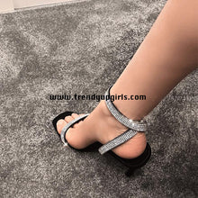 Load image into Gallery viewer, Popular High Heels Women Sandals Shoes HZS0125