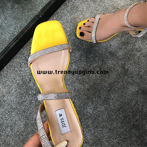 Popular High Heels Women Sandals Shoes HZS0125