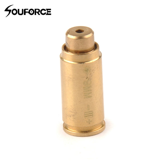 9mm Cartridge Copper Red Laser Bore Sight for Hunting