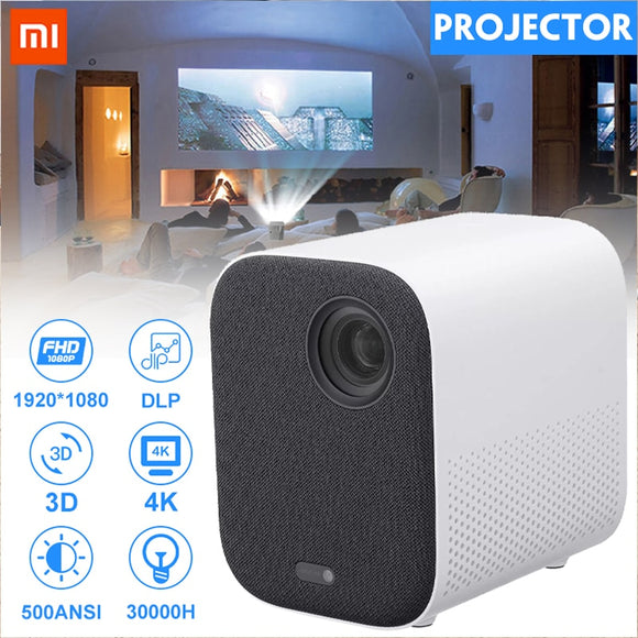 Xiaomi Mijia MINI Projector TV 4K DLP Full HD 1080P beamer 30000 LED Wifi bluetooth 3D Home Theater Projector