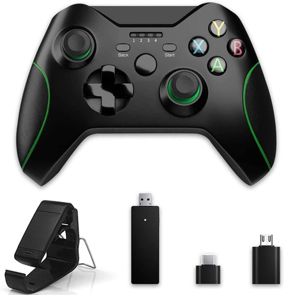 2.4Ghz Wireless Controller for Xbox One, Multi-function Dual-vibration of Gamepad,Compatible with Windows PC & Android
