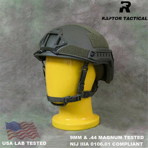 Raptor Tactical FAST UHMWPE NIJ IIIA 3A 0106.01 ISO Genuine EPIC High Cut Ballistic Helmet XP Cut Bulletproof Helmet Dial Liner
