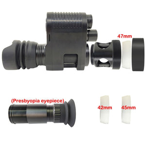 Night Vision Scope Megaorei 3 Digital Infrared Night-vision Sight Monocular Super Anti-shock Riflescope Hunting