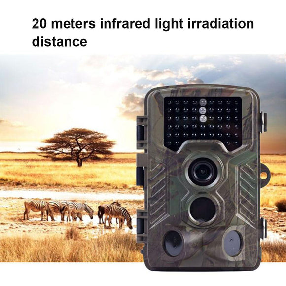 Hunting Camera Trail Surveillance IP67 Waterproof 3 Zone Infrared Sensor 16MP 1080P HD 82ft 125 degrees Wide Angle Night Vision