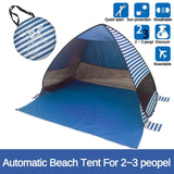 200x165x130cm Top Selling Portable Automatic 2 Second Quickly Opening Camping Tent Shelter Beach Uv Protection Sunshade Tent