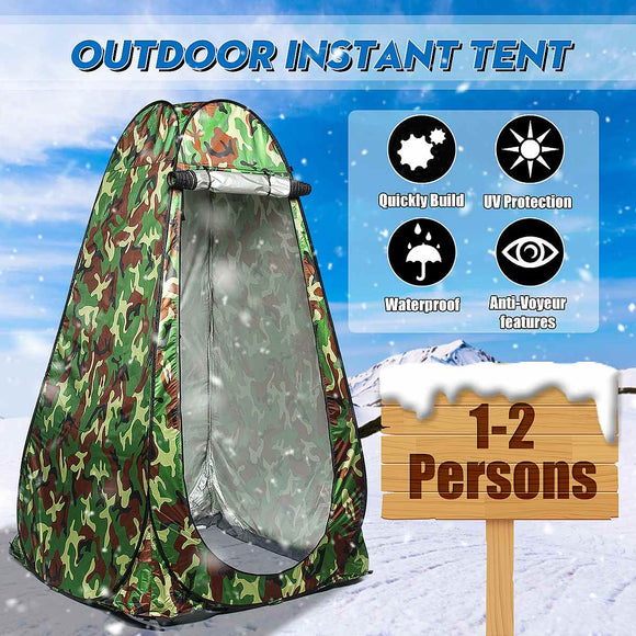 NEW Automatic Open Tent Lightweight Sturdy Portable Outdoor Shower Camp Toilet Camping And Beach Dressing Tent
