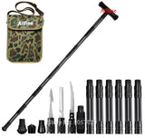 Allfine™ Trekking Poles Walking Poles Outdoor Camping Defense Stick Safety Multi-Functional Home Rod Hiking Survival Tool