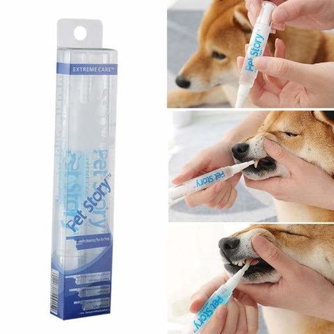 Pet Teeth Cleaning Kit, Deep Cleaning Teeth, Dental Cleaning, Dog, Dog Teeth Cleaning, Dog Toothbrush