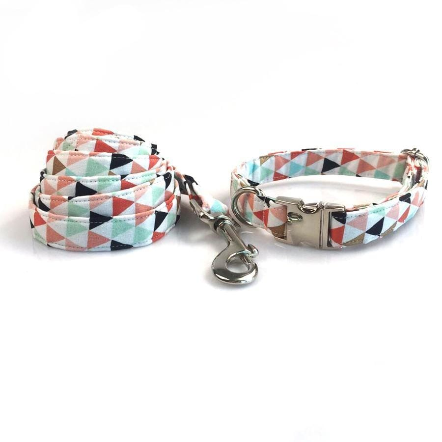 Triangle Colorful Dog Collar