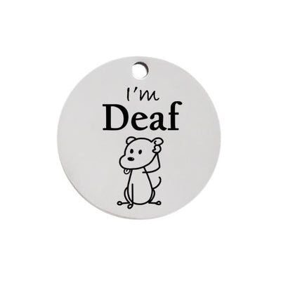 Personalized Cute Pattern Dog Name Tag